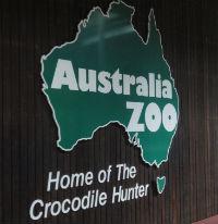 Australia Zoo front sign