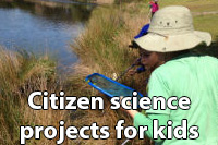 Citizen science projects for kids