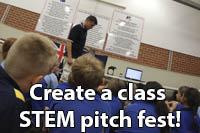 Class STEM pitch fest