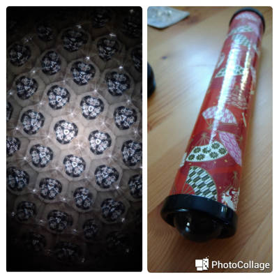 Daiso kaleidoscope left seeing through the kaleidoscope, image of kaleidoscope red black pictures of fans