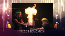 Fizzics Education Australian Small Business Champion Winner flour fireball