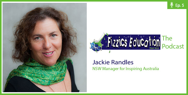 Jackie Randles and FizzicsEd Podcast Episode 5