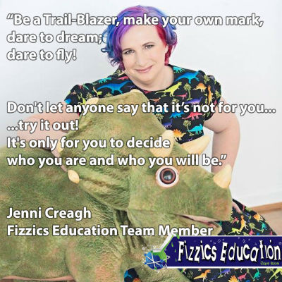 Jenni Creagh from Fizzics quote