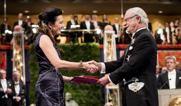 May-Britt Moser at Nobel Prizes Ceremony