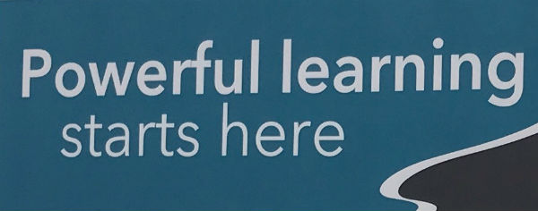 Sign: Powerful learning starts here