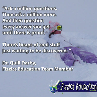 Quill Darby from Fizzics quote