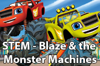 STEM in Blaze and the Monster Machines
