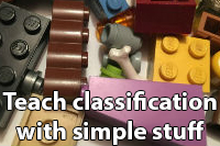 Teach classification with simple stuff