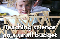 Teaching science on a small budget