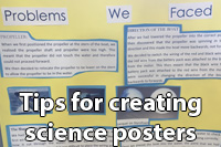 Tips for creating science posters