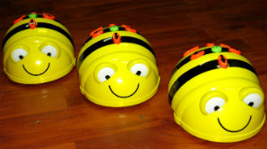 3 Beebots in a row
